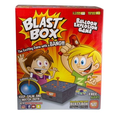 Blast Box Game Balloon Exciting Board Game Friends Kids Family Fun Gift Party