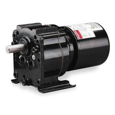 Dayton Model 3M326 Gear Motor TEFC, 4.1 RPM 1/40 hp 115V 60HZ.