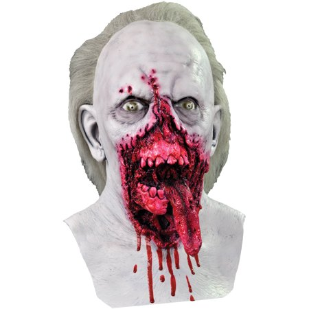 Day of The Dead Doctor Tongue Mask Adult Halloween Accessory (Tongue Costume)