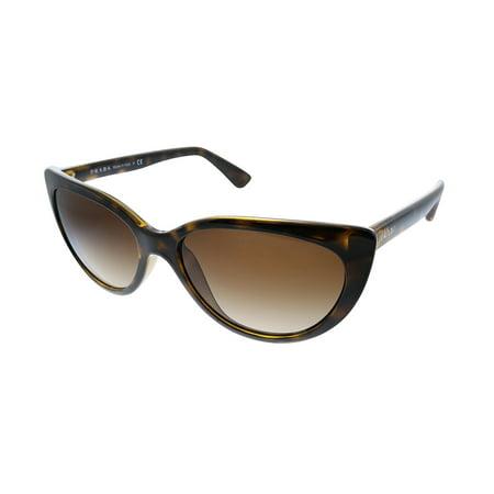 Prada PR 17VS 2AU6S1 57mm Womens Cat-Eye Sunglasses
