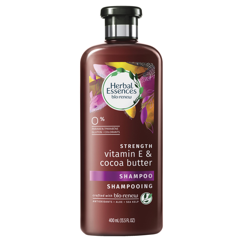 Herbal Essences Bio:renew Vitamin E with Cocoa Butter Shampoo, 13.5 Fl Oz