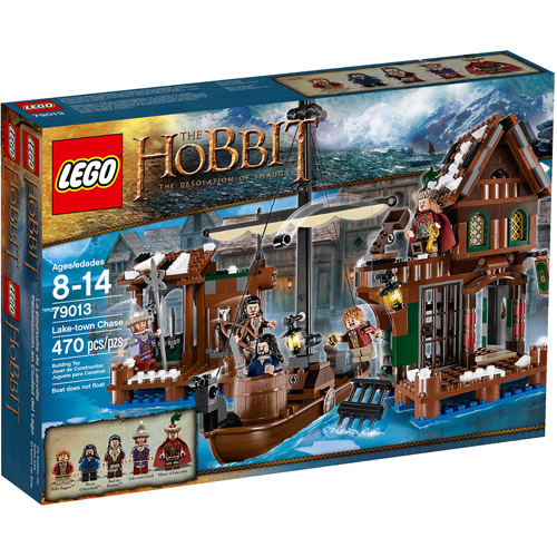 LEGO The Hobbit: The Desolation of Smaug Lake-Town Chase Play Set
