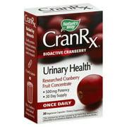 Natures Way CranRx Bioactive Cranberry Vegetarian Capsules/Dietary Supplement 30 count