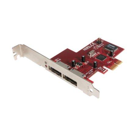 StarTech 2-Port PCI Express eSATA Controller Adapter