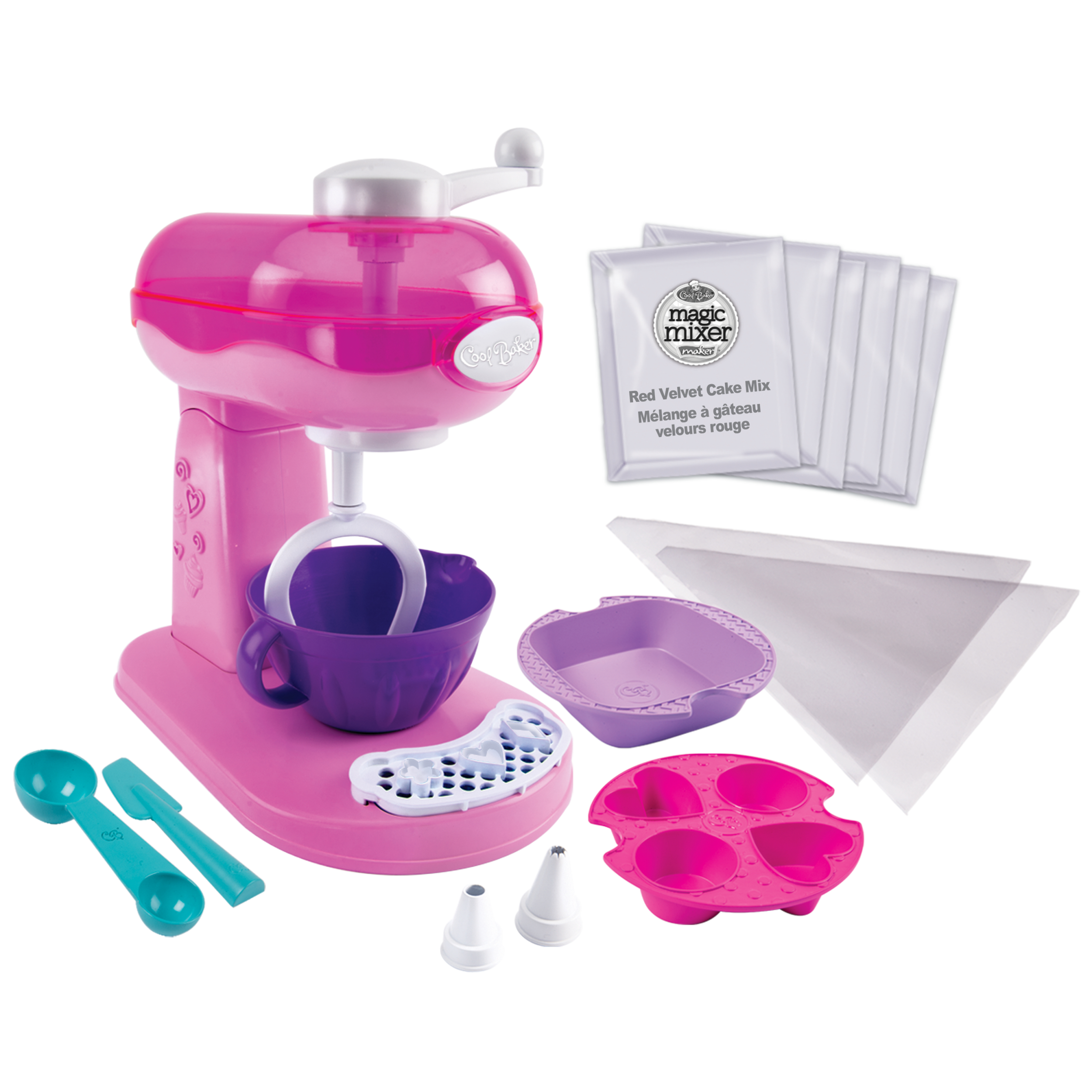 Cool Baker Magic Mixer Maker - Pink - Wal-Mart Exclusive