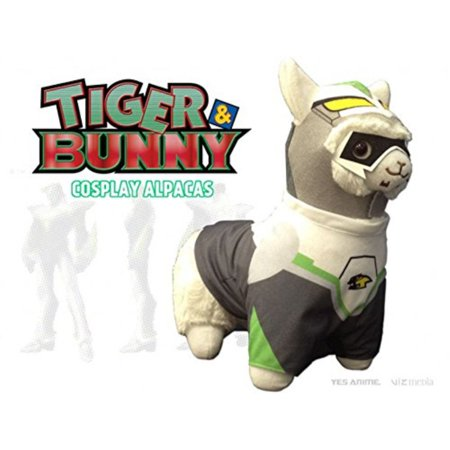 Tiger & Bunny Hero Suit Cosplay Alpaca Prime Plush, Wild Tiger