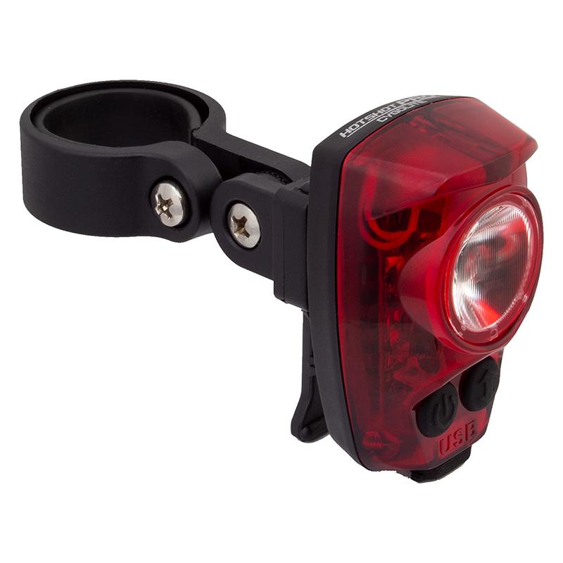 NEW Brightest Cygolite Hotshot PRO 200 Rear Bike Tail Light USB Rechrg upgrd 150
