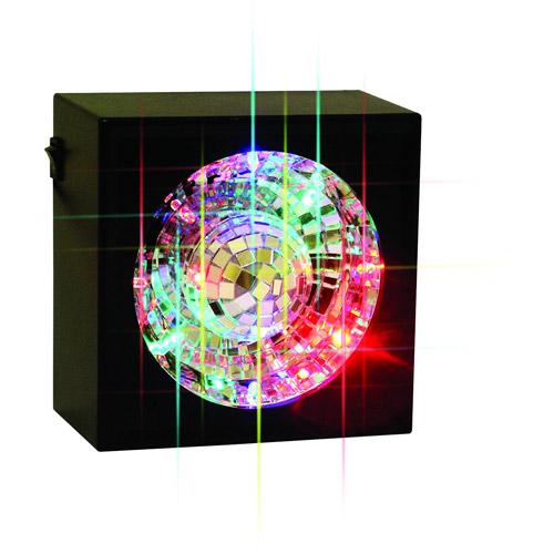 Creative Motion Square Rotating Mirror Ball Light
