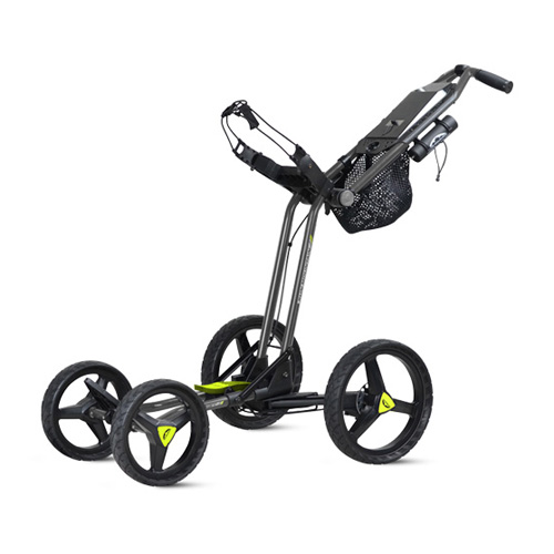 New Sun Mountain Micro-Cart GT Push Cart - Gunmetal / Flash