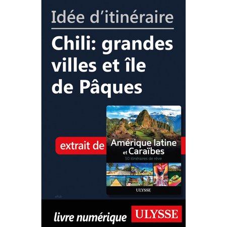 Idée d'itinéraire - Chili: grandes villes et île de Pâques - eBook](Ville De Halloween)