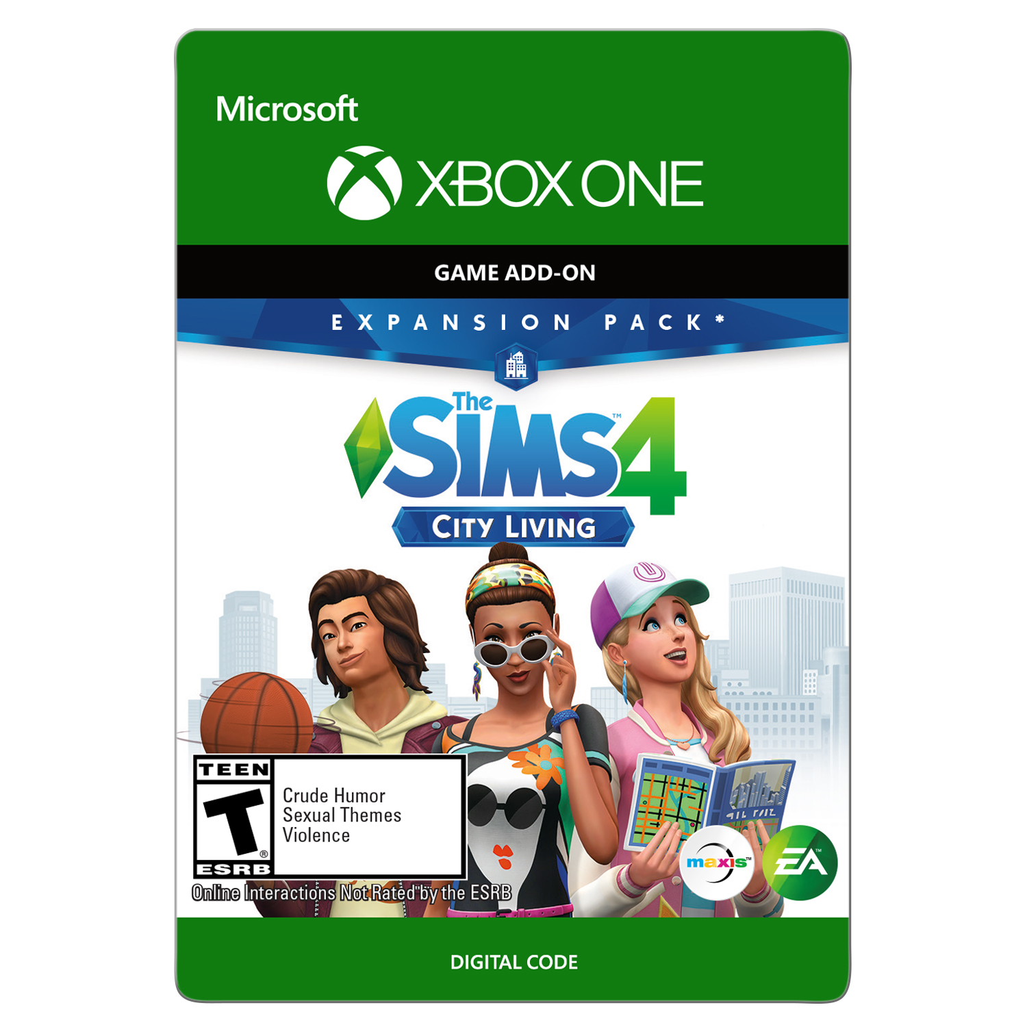 THE SIMS 4 (EP3) CITY LIVING Xbox One (Email Delivery)