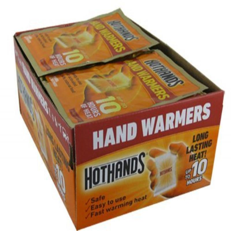 HotHands Hand Warmers plus 1 FREE SAMPLE Body & Hand Super Warmer by Hand Warmers