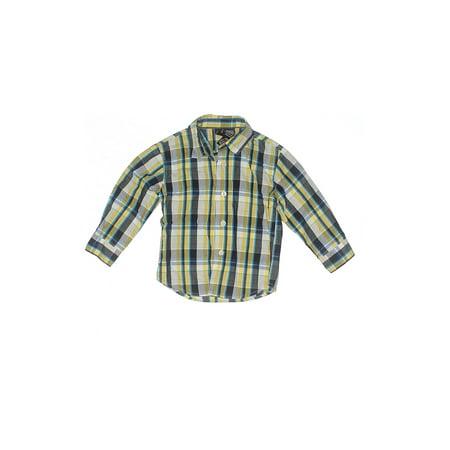 Pre-Owned Nautica Boy's Size 24 Mo Long Sleeve Button-Down Shirt