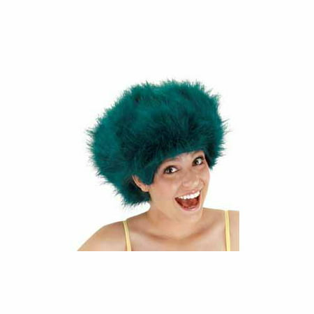 Fuzzy Teal Wig by Elope - 130932 - Teal Wig