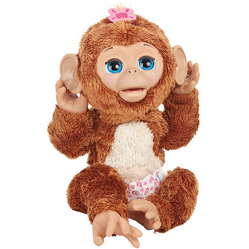 Furreal Friends Cuddles My Giggly Monkey by Hasbro A1650