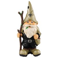 Forever Collectibles - Holding Stick Gnome, New Orleans Saints