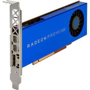 HP Radeon Pro WX 3100 Graphic Card 4 GB PC