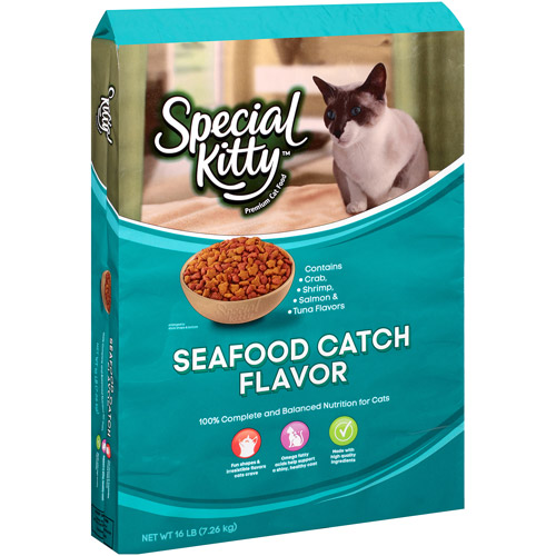 Special Kitty Seafood Catch Cat Food, 16 lb