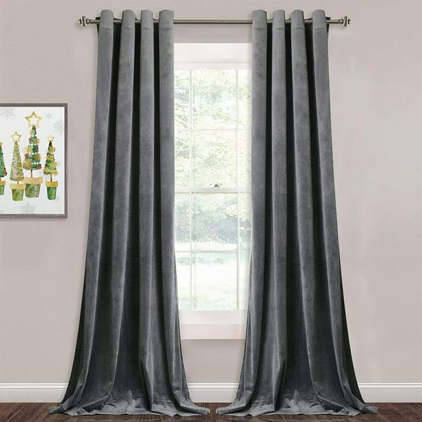 Stangh Grey Velvet Curtains For Living, How Best To Clean Velvet Curtains