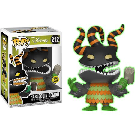 Nightmare Before Christmas Funko POP! Disney Harlequin Demon Vinyl Figure (Glow In The Dark Nightmare Freddy Pop)
