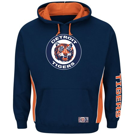 """Detroit Tigers Majestic MLB """"Stadium"""" Cooperstown Hooded Sweatshirt by"""