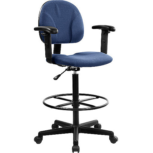 Ergonomic Multi-Function Drafting Stool with Arms, Multiple Colors