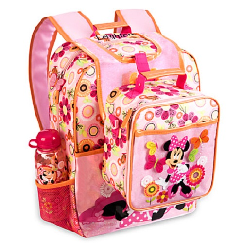 Disney Minnie Mouse Clubhouse Back Pack & Lunch Box Tote
