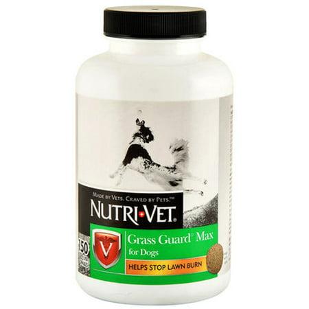 Nutri-Vet Grass Guard Max for Dogs Liver Flavor Chewables - 150 count Nutri-Vet Grass-Guard