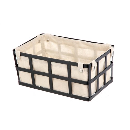 Galvanized Basket With Liner