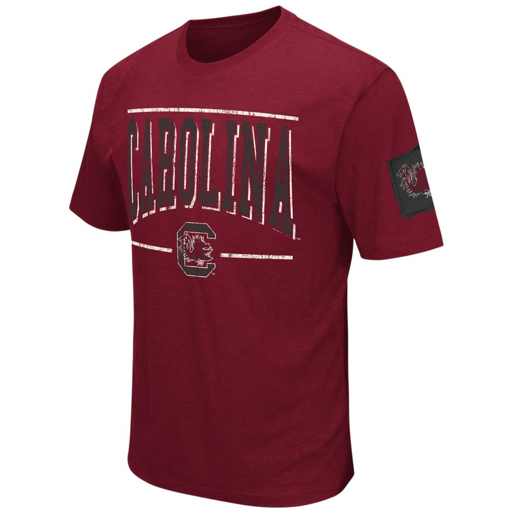 South Carolina Gamecocks Men's T-Shirt Short Sleeve Distressed Tee
