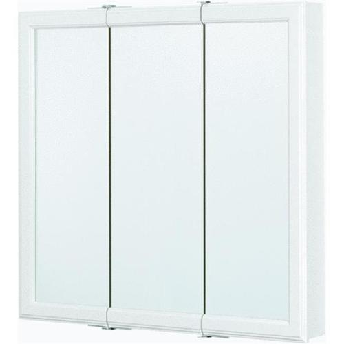 Continental Cabinets Tri-View Mirror 30 Medicine Cabinet by RSI Home Products