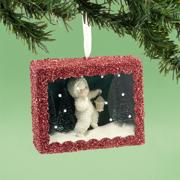 Department 56 Snowbabies 4031918 Star-Lit Stroll Box Ornament 2013