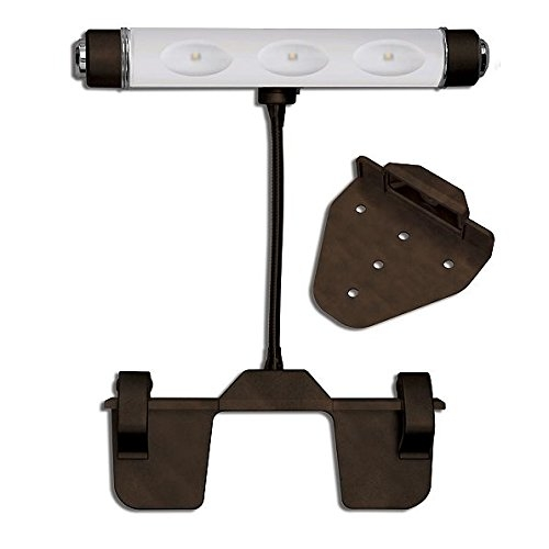 Cordless LED Picture Light (Bronze) by Palos Designs
