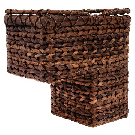 3R Studios BacBac Woven Stair Decorative Basket Stair Step Basket