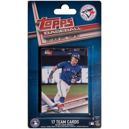 Toronto Blue Jays 2016/17 Team Set Baseball Trading Cards - No - Toronto Blue Jays Baseball Cards