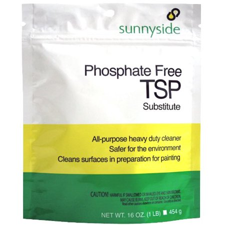 Sunnyside Phosphate Free Tsp Substitute All Purpose Cleaner  1 Pound Pouch  Just Dissolve Product In Warm Water To Use For General Cleaning Or    By Sunnyside Corporation