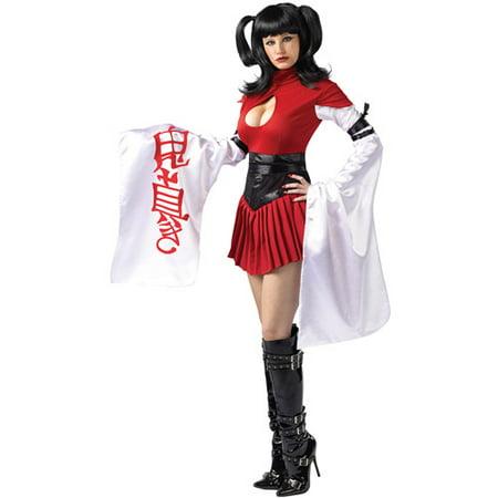 Samurai Kimono Adult Halloween Costume - Sassy Samurai Costume