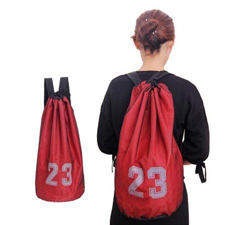 Basketball Bag Drawstring Mash Backpack Fitness Bucket Bag Outdoor Basketball Backpack Sports Equipment Bag (Sports Equipment Backpack)