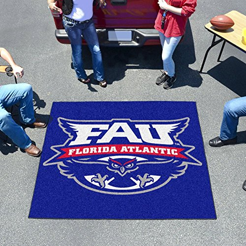 Fan Mats 53 FAU - Florida Atlantic University Owls 60; x 72; Tailgater Mat / Area Rug