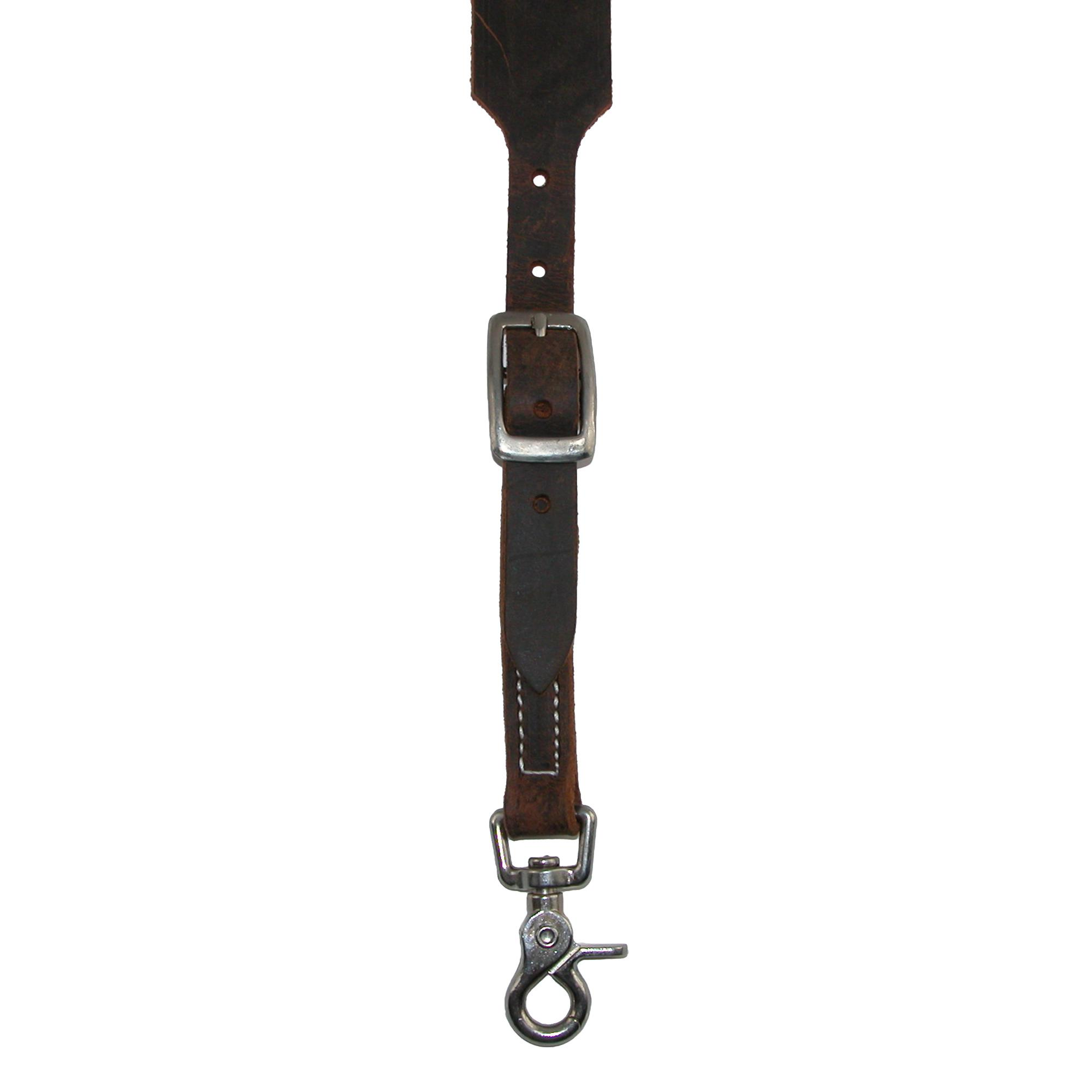 New 3 D Belt Company Men/'s Leather Distressed Suspender with Metal Swivel Hook