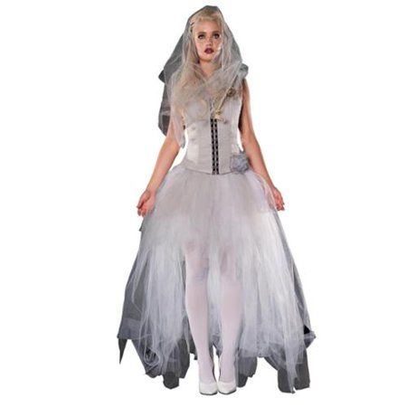 Blythe Spirit Wedding Dress Costume Adult
