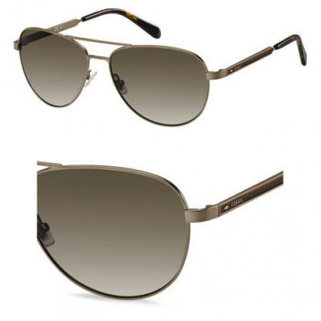 Sunglasses Fossil Fos 3065 S 04in Matte Brown Ha Brown Gradient Lens