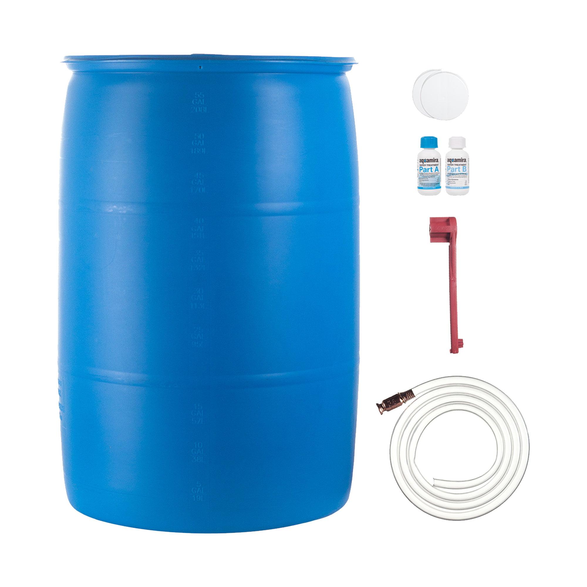 Ultimate 55 Gal Water Barrel Combo