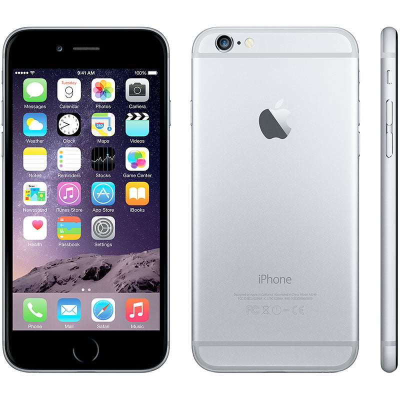 Apple iPhone 6 16GB Unlocked GSM Phone w  8MP Camera Space Gray(Refurbished) by Apple
