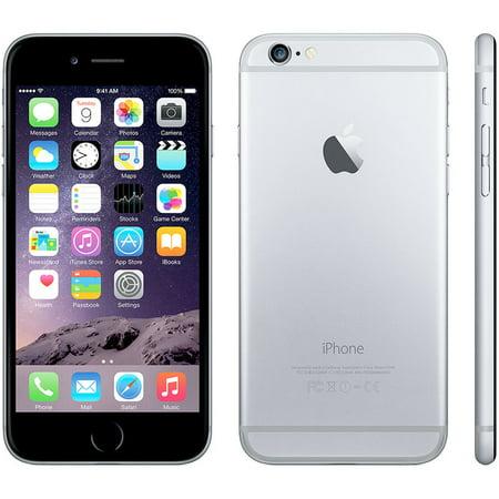 Apple iPhone 6 16GB Unlocked GSM Phone w/ 8MP Camera - Space Gray(Refurbished)