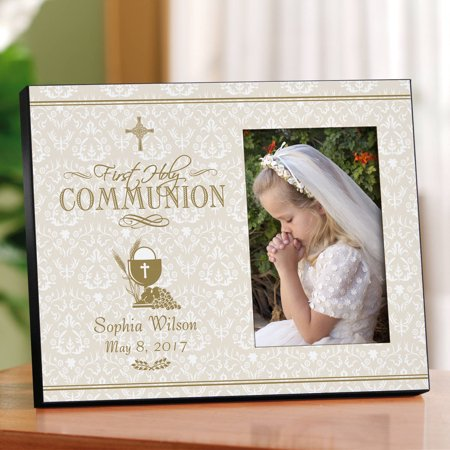 Personalized First Communion Keepsake Frame (First Communion Personalized Gifts)