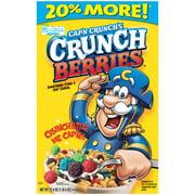 Cap'n Crunch Breakfast Cereal, Crunch Berries, 22.4 oz Box