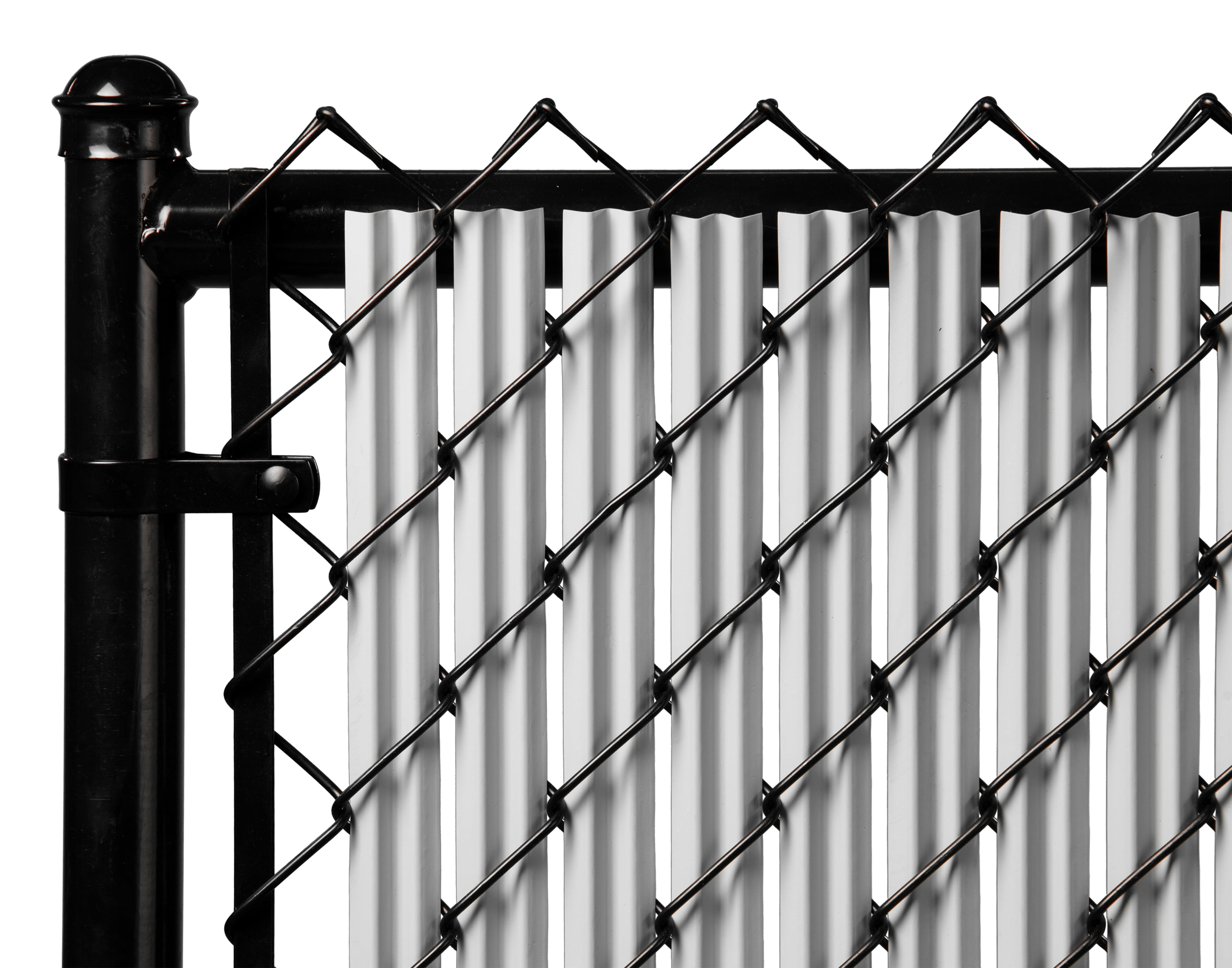 Gray 5ft Ridged Slat for Chain Link Fence by Supplier Generic