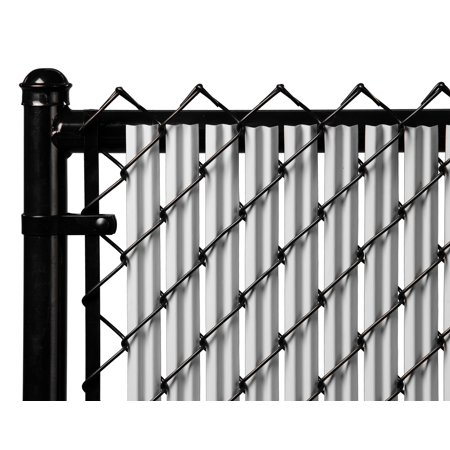 Gray 6ft Ridged Slat for Chain Link Fence Chain Link Fencing Parts