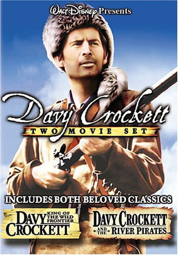Davy Crockett, King of the Wild Frontier   Davy Crockett and the River Pirates by DISNEY/BUENA VISTA HOME VIDEO
